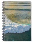 Golden Trails Spiral Notebook