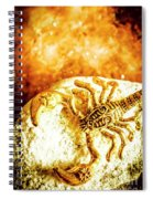 Golden Treasures Spiral Notebook