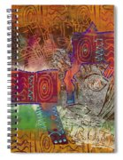 Golden Truth Spiral Notebook