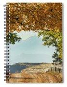 Golden Tunnel Of Love Spiral Notebook
