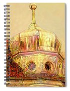 Golden Turret Spiral Notebook