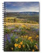 Golden Valley Spiral Notebook