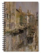 Golden Venice Spiral Notebook