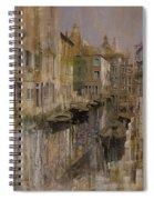 Golden Venice Spiral Notebook