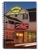 Goldenrod Kisses Luncheonette York Beach Maine Spiral Notebook