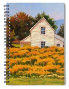 Goldenrod Time Spiral Notebook