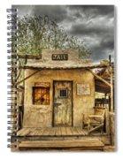 Goldfield Ghost Town - Jail  Spiral Notebook