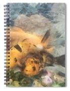 Goldfish In An Aquarium Spiral Notebook