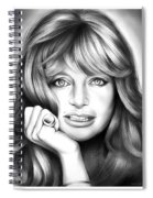 Goldie Hawn Spiral Notebook