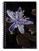 Goldthread In Outline Spiral Notebook