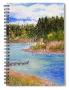 Goldwater Lake Spiral Notebook