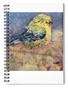 Goldy Spiral Notebook