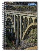 Goleta Hwy 101 Bridge Spiral Notebook