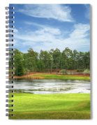 Golf At Pinehurst  Spiral Notebook