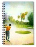 Golf At The Blue Monster In Doral Florida 02 Spiral Notebook