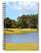 Golf Course Beauty  Spiral Notebook