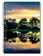 Golf Course Panorama Spiral Notebook