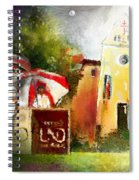 Golf In Club Fontana Austria 01 Dyptic Part 02 Spiral Notebook