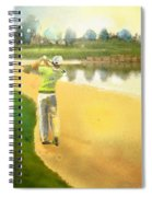 Golf In Club Fontana Austria 02 Spiral Notebook