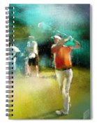 Golf In Club Fontana Austria 03 Spiral Notebook