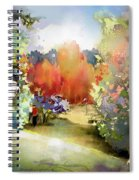 Golf In Gut Laerchehof Germany 02 Spiral Notebook