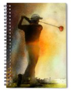 Golf In The Portugal Masters 01  Spiral Notebook