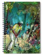 Golf Madness 03 Spiral Notebook