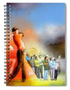 Golf Madrid Masters 01 Spiral Notebook