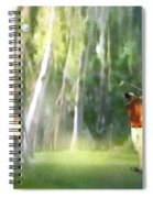 Golf Trophee Hassan II In Royal Golf Dar Es Salam Morocco 01 Spiral Notebook