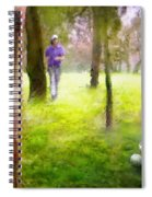 Golf Trophee Hassan II In Royal Golf Dar Es Salam Morocco 02 Spiral Notebook