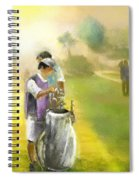 Golf Vivendi Trophy In France 03 Spiral Notebook