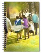 Golf Vivendi Trophy In France 04 Spiral Notebook