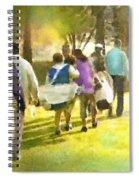 Golf Vivendi Trophy In France 04 Spiral Notebook