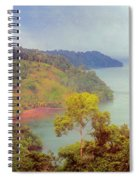 Golfo Dulce Costa Rica Spiral Notebook