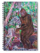 Goliath - The Bigfoot Of Ash Swamp Road Spiral Notebook