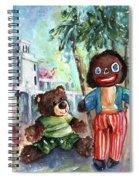 Gollivers Travel Spiral Notebook
