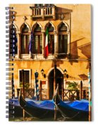Gondola Parking Only Spiral Notebook