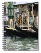 Gondola Pier Spiral Notebook