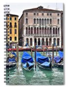 Gondolas Galore Spiral Notebook