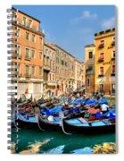 Gondolas In The Square Spiral Notebook