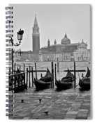 Gondolas Of San Marco Square Spiral Notebook