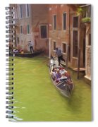 Gondoles In Venice Italy Spiral Notebook
