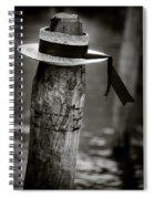 Gondolier Hat Spiral Notebook