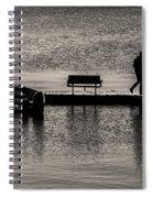 Gone Fishin' Spiral Notebook
