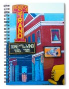 Gone With The Wind At The Strand Spiral Notebook