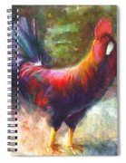 Gonzalez The Rooster Spiral Notebook