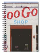 Goo Goo Shop- Photography By Linda Woods Spiral Notebook