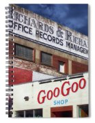 Goo Goo Shop Spiral Notebook
