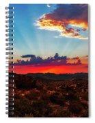 Good Evening Arizona Spiral Notebook