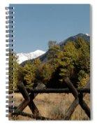 Good Fences Make Good Neighbors .... Robert Frost Spiral Notebook